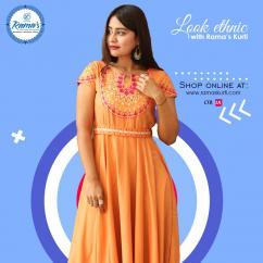 Make your ethnic look memorable with Rajasthani Kurti