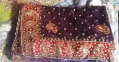 Branded almost new saree