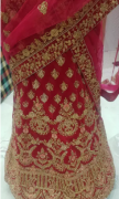 New bridal lehenga in magenta colour