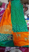 Designer embroidered heavy work sarees
