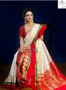 Fancy latest kanjiwaram silk women sarries