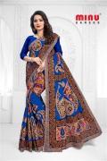 wholesaler of Minu Cotton Printed Designer Butik saree