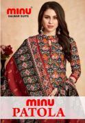 Cotton Printed Designer Patola Print and Pattern Salwar Set Minu