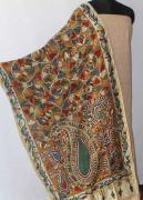 Hand painted Kalamkari Dupatta