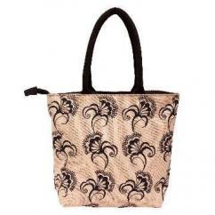 Dark Ash Designer Jute Bag