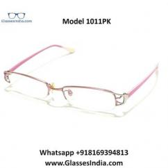 Pink Designer Computer Glasses for Women