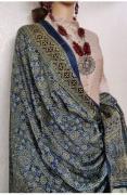 Designer Ajrakh Silk Dupattas