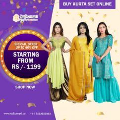 A Perfect Way to Buy Kurta Set