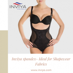 Inviya spandex Ideal for Shapewear Fabrics