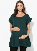 Tiered Design Maternity Top