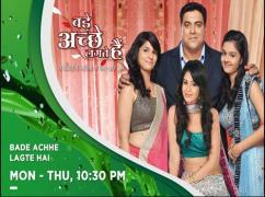 Bade Acche Legte Hai Hindhi Tv Serial DVD Package For Sale.