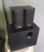 Intex 2.1 speakers with woofer