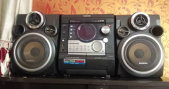 Samsung audio system with CD ,VCD MP3 player