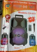 Rechargeble wireless speaker