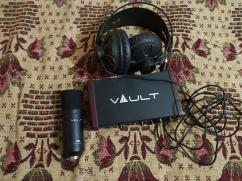 vault Ai22 audio recording setup