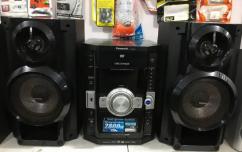 Panasonic music system with usb option