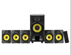Philips Heart Beat SPA-3800B 5.1 Channel Home Theater System