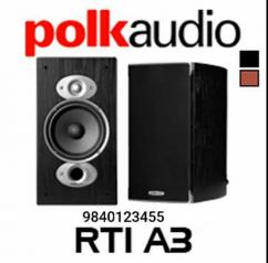 Polk Audio RTI A3 Speaker Pair with Warranty