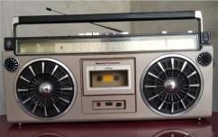 National Panasonic 4150FD Cassette player Tape recorder Vintage Radio