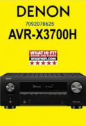 Denon AVR-X3700H 9.2 Dolby Atmos AV Receiver