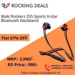 BoAt Rockerz 255 Sports in Ear Neckband