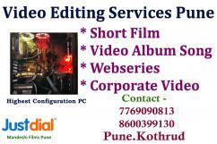 Video Editing Services Pune Short Film Editing Pune Video Album Song Editing Doc