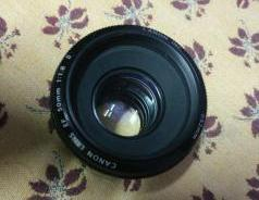 50mm Canon Lense For Canon Camera
