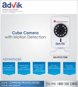 Cube Camera with Motion Detection