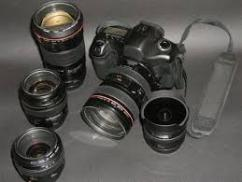 Camera Lens In Less Used Condition