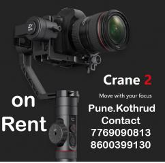 Crane 2 Gimbal on rent Pune