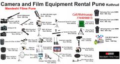 Film Equipment Rental Pune  Filmmaking Equipment Rent Pune  Film Production Pu