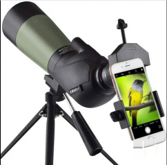 Gosky 20-60x60 HD Spotting Scope with Tripod, Carrying Bag and Scope