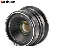 7artisans 25mm F1.8 APS-C Frame Manual Focus Prime Fixed Lens
