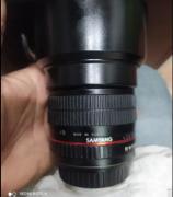 85mm f 1.4 samyang manual lens canon mount good condition