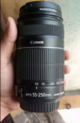 Canon 55-250mm zoom lens brand new condition