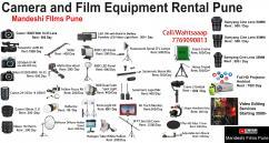 Film Equipment Rental Pune  Camera Equipment Rent Pune