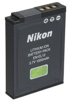 Nikon Li-Ion Rechargeable Battery (EN-EL12)