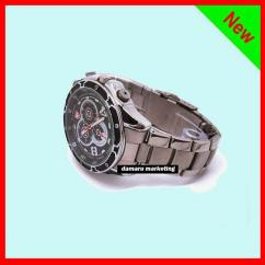 8GB VOICE CONTROL 1080P HD SPY WATCH CAMERA DVR IR NIGHT VISION WATERPROOF CASH