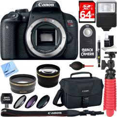 Canon EOS 700D / T5I Rebel DSLR Camera
