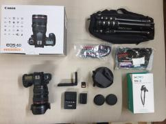 Canon EOS 6D 20.2MP Digital SLR Kit EF L IS USM 24-105mm