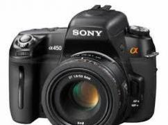 Sony Alpha DSLR In Great Condition