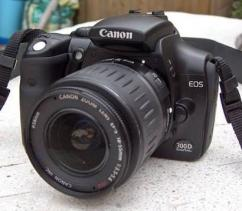 Rarely Used Canon DSLR In Working Condition