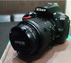 D5500 camera Nikon lens