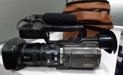 sony PD 170 video camera