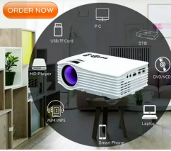 LOW PRICE BEST HOME CINEMA HD LED PROJECTOR USB HDMI AV
