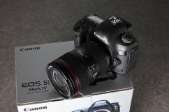 Canon eos 5D Mark IV with 24-105mm Lens