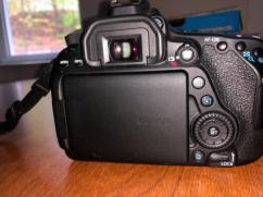 Canon EOS 80D 242 MP Digital SLR Camera Black