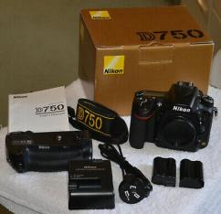 Nikon D750 with full kits