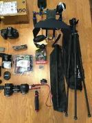 Nikon D850 with full kits