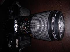 Monolta X 7A Black SLR camera